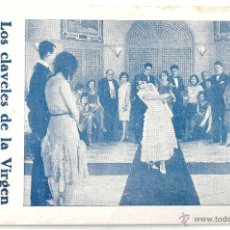 Cine: LOS CLAVELES DE LA VIRGEN PROGRAMA TARJETA IMPERIO ARGENTINA FLORIAN REY. Lote 47321985