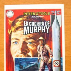 Cine: LA GUERRA DE MURPHY - PETER O´TOOLE, PHILIPPE NOIRET. Lote 47325706