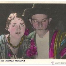 Cine: EL LEON DE SIERRA MORENA PROGRAMA TARJETA CINE ESPAÑOL MIGUEL CONTRERAS TORRES A. Lote 47325779