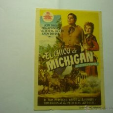 Cine: PROGRAMA EL CHICO DE MICHIGAN.-JON HALL. Lote 47331094