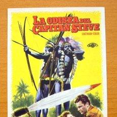 Cine: LA ODISEA DEL CAPITAN STEVE - CHIPS RAFFERTY - CON PUBLICIDAD. Lote 47336561