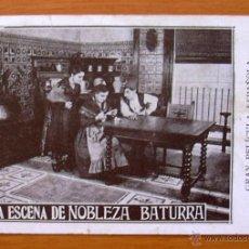 Cine: NOBLEZA BATURRA - PELICULA DE 1925 - INOCENCIA ALCUBIERRE, FELIPE FERNANSUAR, FÉLIX DAFAUCE. Lote 47375849