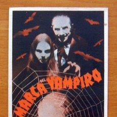 Cine: LA MARCA DEL VAMPIRO - PELICULA DE 1935 -ELIZABETH ALLAN, LIONEL BARRYMORE -PUBLICIDAD, CINE CAPITOL. Lote 47375999