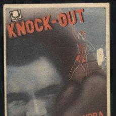 Cinema - P-5018- KNOCK-OUT (TEATRO PRINCIPAL) (ANNY ONDRA - MAX SCHMELING) - 47385156