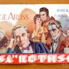 Cine: LA CASA DE ROTHSCHILD - PELICULA DE 1934 - GEORGE ARLISS, BORIS KARLOFF, LORETTA YOUNG, ROBERT YOUNG. Lote 47402199