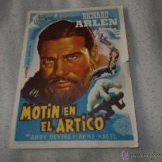 Cine: MOTIN EN EL ARTICO. Lote 47410546