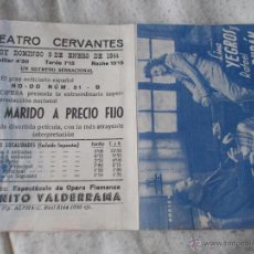 Cine: UN MARIDO A PRECIO FIJO. Lote 47411150