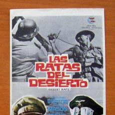 Cine: LAS RATAS DEL DESIERTO - RICHARD BURTON, JAMES MASON. Lote 11845447