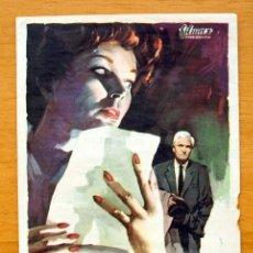 Cine: MISIÓN SECRETA EN ROMA - DAWN ADDAMS, PETER VAN EYCK - CON PUBLICIDAD. Lote 47546643