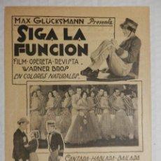 MUSICA MAESTRO - PROGRAMA DE MANO SENCILLO - AÑO 1929