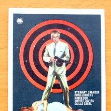 Cine: OPERACIÓN GIGANTE - STEWART GRANGER, CURD JURGENS - CON PUBLICIDAD. Lote 47599564