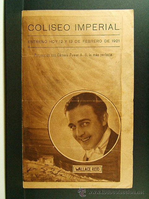 DEMASIADOS MILLONES-TOO MANY MILLIONS-J.CRUZE-WALLACE REID-ORA CAREW-OBRA RARISIMA-ESTRENO-1921-MUDA (Cine - Folletos de Mano - Ciencia Ficción)