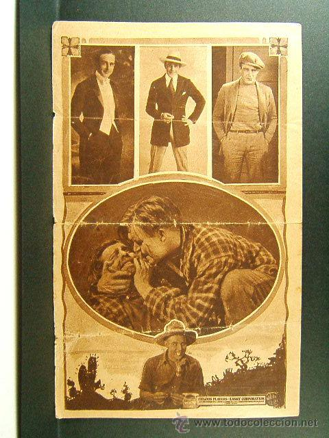 Cine: DEMASIADOS MILLONES-TOO MANY MILLIONS-J.CRUZE-WALLACE REID-ORA CAREW-OBRA RARISIMA-ESTRENO-1921-MUDA - Foto 3 - 47610024