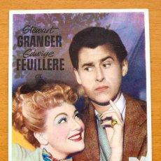 Cine: EL ENEMIGO DE LAS MUJERES - STEWART GRANGER, EDWIGE FEUILLERE - CON PUBLICIDAD. Lote 47711533