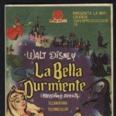 Foglietti di film di film antichi di cinema: P-3782- LA BELLA DURMIENTE (WALT DISNEY). Lote 47745138