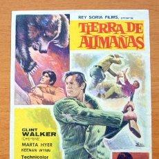 Cine: TIERRA DE ALIMAÑAS - CLINT WALKER, MARTA HYER. Lote 11089922