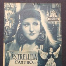 Cine: LA GITANILLA. ESTRELLITA CASTRO. TEATRO CINE DOMENECH. RUBI. . Lote 47775432