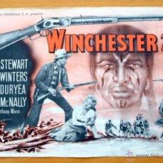 Cine: WINCHESTER 73 - JAMES STEWART, SHELLEY WINTERS - CON PUBLICIDAD. Lote 47801599