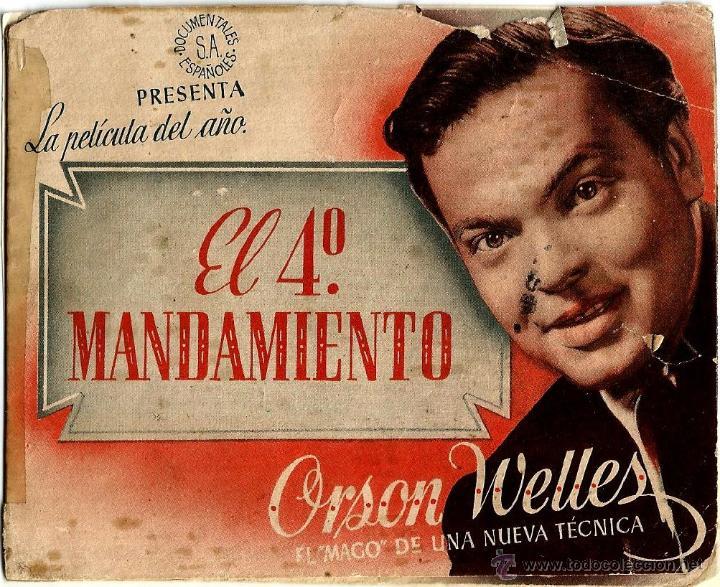 diptico - el cuarto mandamiento - orson welles - Comprar Suspense ...