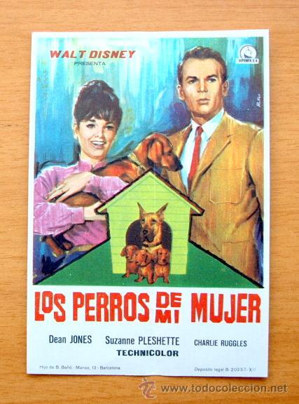 Los Perros De Mi Mujer Walt Disney Dean Jon Buy Comedy At Todocoleccion 67706078