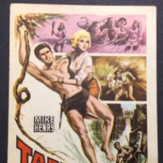 Cine: TARZAN EN EL AMAZONAS. JAN MURRAY. DIANA MILLAY. RAFER JOHNSON. . Lote 47967743