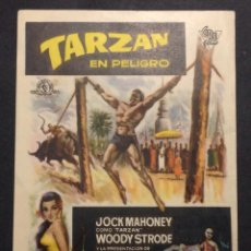 Cine: TARZAN EN PELIGRO. JOCK MAHONEY. WOODY STRODE. HUNGRY.. Lote 47969776