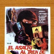 Folhetos de mão de filmes antigos de cinema: EL ASALTO AL TREN DE GLASGOW - HORST TAPERT, HANS COSSY. Lote 48152022