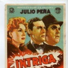 Cinema - INTRIGA, con Julio Peña. - 48161206