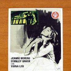 Cine: EVA - JEANNE MOREAU, STANLEY BAKER, VIRNA LISI - PUBLICIDAD CINE ROXY, SANTANDER. Lote 13590207