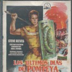 Cine: 7849- LOS ULTIMOS DIAS DE POMPEYA. Lote 48196578