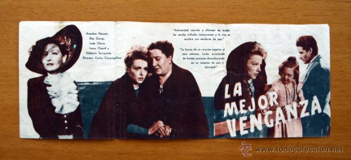 Cine: La mejor venganza - Amadeo Nazzari, Elsa Goirgi - Publicidad Cine Avenida, Burgos - Foto 2 - 12829514