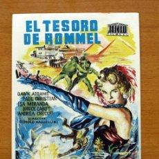 Cine: EL TESORO DE ROMMEL - DAWN ADDAMS, PAUL CHRISTIAN - CON PUBLICIDAD. Lote 48242392