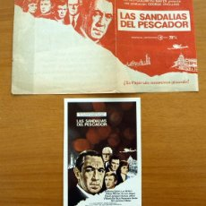 Cine: LAS SANDALIAS DEL PESCADOR - ANTHONY QUINN, LEO MCKEM, OSKAR WERNER. Lote 48283473