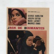 Cine: JACK DE DIAMANTES. SENCILLO DE MGM. ¡IMPECABLE!. Lote 48284944