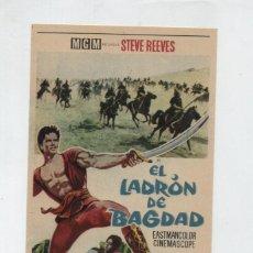 Foglietti di film di film antichi di cinema: EL LADRÓN DE BAGDAD. SENCILLO DE MGM. ¡IMPECABLE!. Lote 48302035