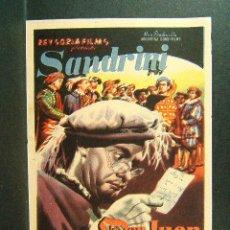 Cine: DON JUAN TENORIO-LUIS CESAR AMADORI-LUIS SANDRINI-TITA MERELLO-VIRGINIA LUQUE-(1949). Lote 48341516