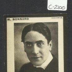 Cine: GLORIA - M.BONNARD - SMART CINE - (C-2100). Lote 48407183