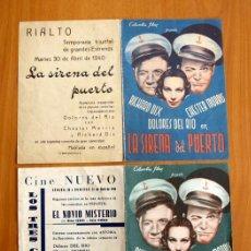 Cine: LA SIRENA DEL PUERTO - RICHARD DIX, DOLORES DEL RIO - CON PUBLICIDAD. Lote 13859712