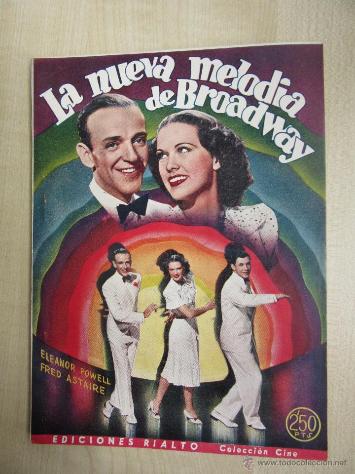UNA NUEVA MELODÍA DE BROADWAY ELEANOR POWELL Y FRED ASTAIRE 1944 (Cine - Folletos de Mano - Musicales)
