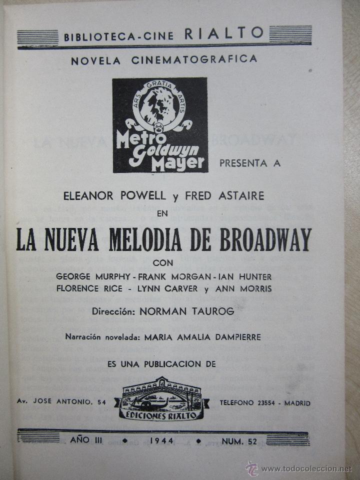 Cine: UNA NUEVA MELODÍA DE BROADWAY ELEANOR POWELL Y FRED ASTAIRE 1944 - Foto 2 - 48452449