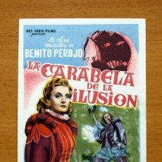 Cine: LA CARABELA DE LA ILUSIÓN - SILVANA ROTH, ERNESTO VILCHES - CON PUBLICIDAD. Lote 11968292