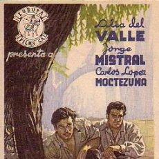 Flyers Publicitaires de films Anciens: PEREGRINA. Lote 48542254
