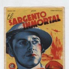 Cine: EL SARGENTO INMORTAL. SOLIGÓ. SENCILLO DE 20TH CENTURY. CINE ESPAÑOL - ANDÚJAR 1946.. Lote 48570457