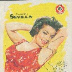 Cine: EL SECRETO DE MÓNICA (CON PUBLICIDAD). Lote 48619267