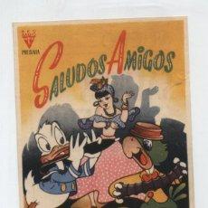 Cine: SALUDOS AMIGOS. SENCILLO DE RKO RADIO. CINE NUEVO 1945.. Lote 48671767