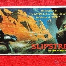 Cine: SLIPSTREAM, LA FURIA DEL VIENTO, ASHESIVO, CB FILMS VIDEO, EXCELENTE ESTADO 19X8,5. Lote 48700221