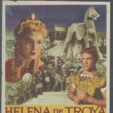 Cine: 7838- FOLLETO DE MANO: HELENA DE TROYA. Lote 48716273