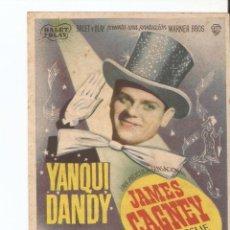 Cine: YANKI DANDY - JAMES CAGNEY, JOAN LESLIE, WALTER HUSTON - DIRECTOR MICHAEL CURTIZ - WARNER BROS. Lote 48758812