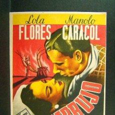 EMBRUJO-CARLOS SERRANO DE OSMA-LOLA FLORES-FERNANDO FERNAN GOMEZ-SALA EDISON-FIGUERAS-CINE-(1947)