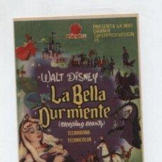Cine: LA BELLA DURMIENTE. SENCILLO DE HISPAMEX FILMS. GRAN CINEMA - SANTANDER 1960.. Lote 48855368